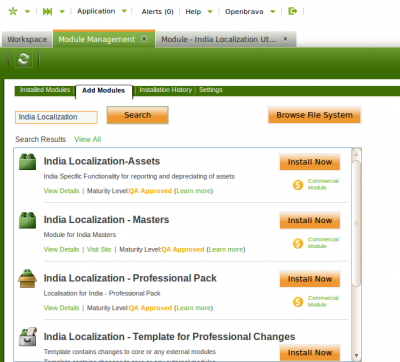 India Localization Prof AddModules.png
